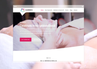 Kazerne12 Website