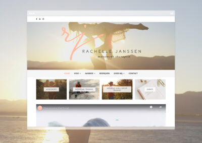 Rachelle Janssen Redesign website