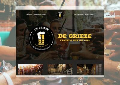 Brouwerij De Grieze Website