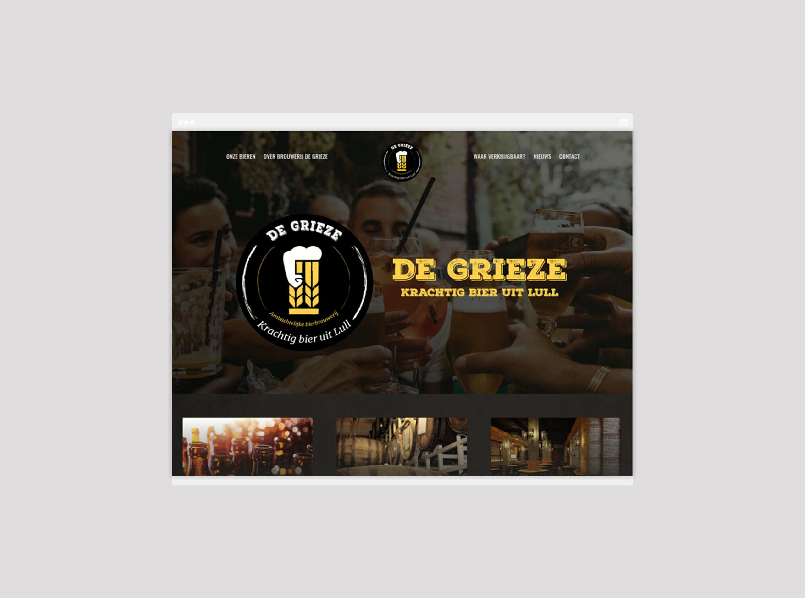 De Grieze Website