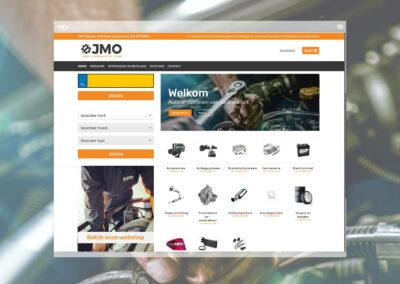 JMO Carparts Webshop Design