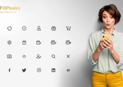 FitPeaks Icons