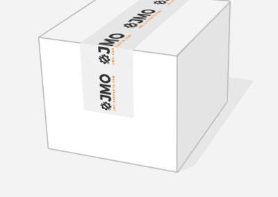 JMO Custom Printed Packing Tape